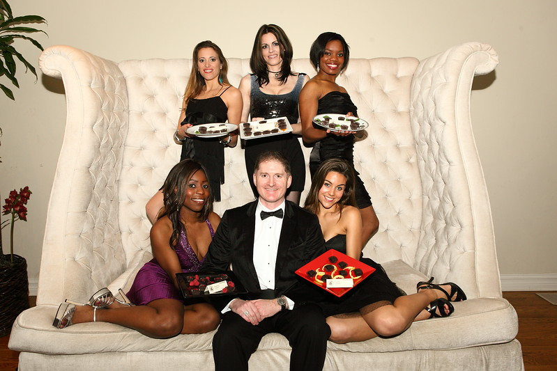 """Kevin Shelley & Benedetto Chocolate Models  <a href=""""http://www.benedettofoods.com"""">http://www.benedettofoods.com</a>"""
