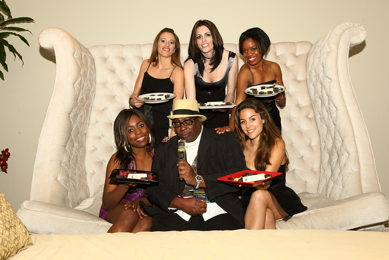 """BJ Drake & Benedetto Chocolate Models  <a href=""""http://www.benedettofoods.com"""">http://www.benedettofoods.com</a>"""