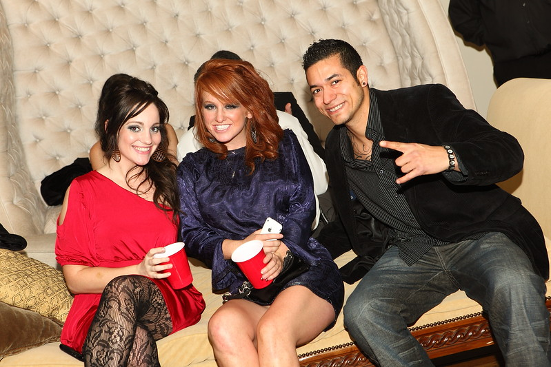 Texas Coplen and Friends at Celebrity Suites LA Oscars After Party