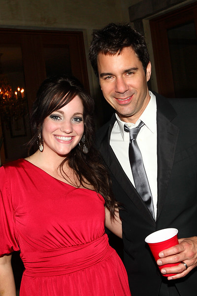 Texas Coplen and Eric McCormack at Celebrity Suites LA Oscar Party