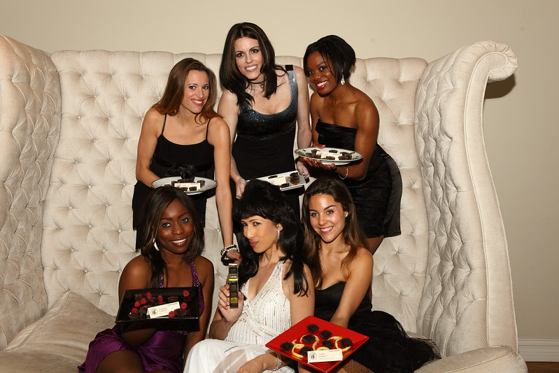 "Elly Kaye & Benedetto Chocolate Models  <a href=""http://www.benedettofoods.com"">http://www.benedettofoods.com</a>"
