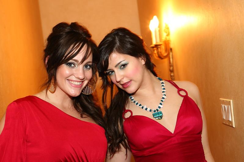 Texas Coplen and Tatiana Del at Toro Celebrity Suites LA Oscar Party