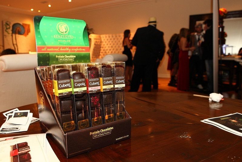"""Benedetto Protein Chocolates Celebrity Suites LA Oscars After Party  <a href=""""http://www.benedettofoods.com"""">http://www.benedettofoods.com</a>"""