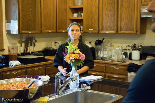 2016 FoodnSport Culinary Skills Week Retreat