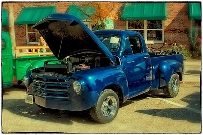 1959 Studebaker Truck at the First Annual CTFA (College Township Fire Dept) Prevention Car Show in Gambier, Ohio on October 8, 2011.