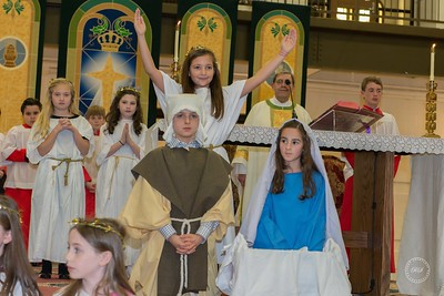 Christmas Eve Children's Mass at Christ the King