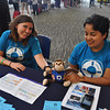 "Brittany Kohler, Melody Calla, with ""Rooster""<br /> Welcome Table - 2013<br /> Credit: Aristede Dukes"