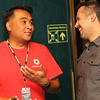 Edward Teh, P. Elden Ramirez<br /> Meet and Greet - 2013<br /> Credit: Aristede Dukes