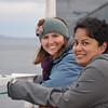 Brittany Kohler, Melody Calla<br /> Tracy Arm Scenic Cruising - 2013<br /> Credit: Richard Parke