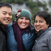 James Ho, Brittany Kohler, Melody Calla<br /> Tracy Arm Scenic Cruising - 2013<br /> Credit: Aristede Dukes