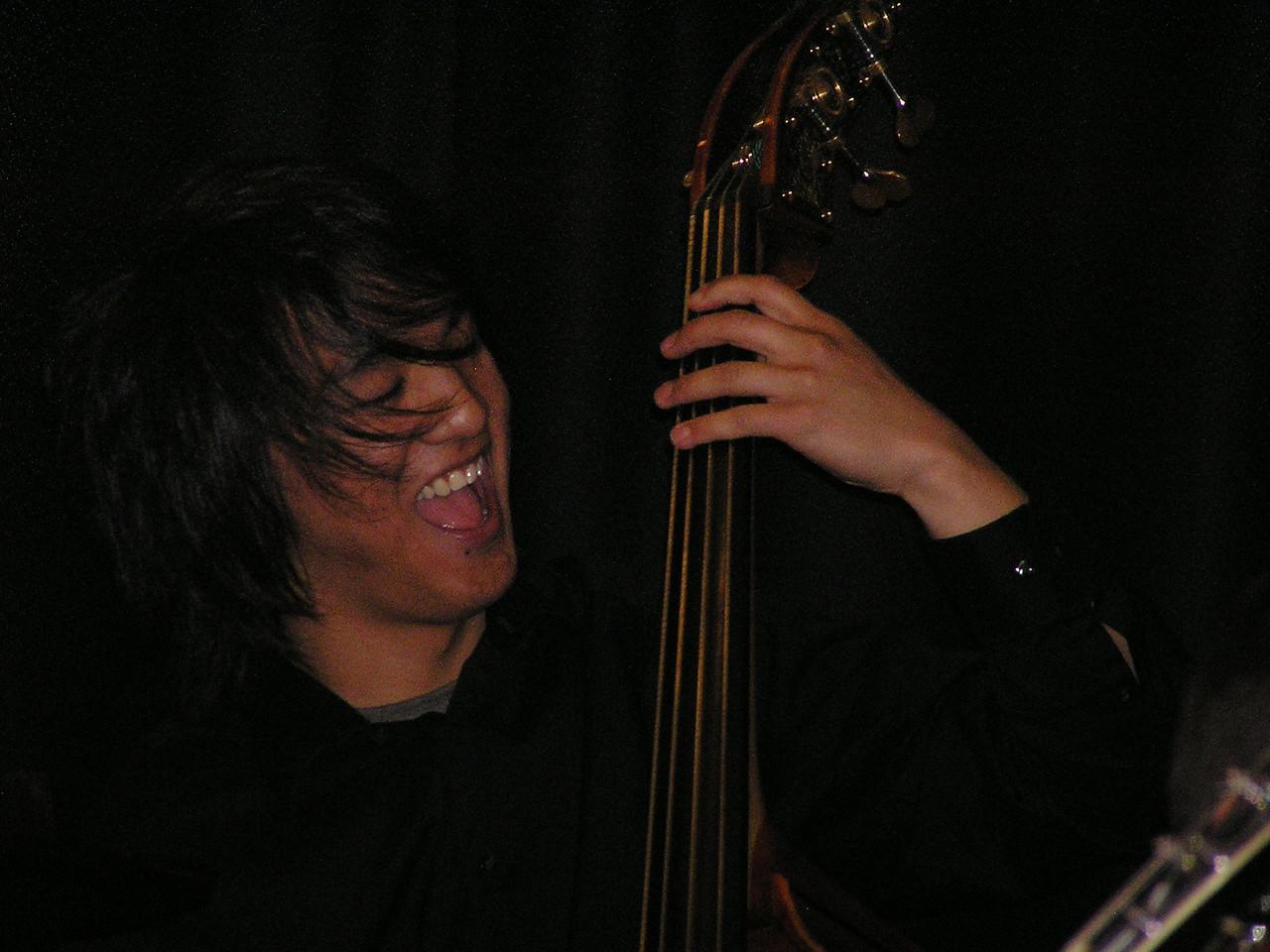 Yeah ... Isaac Castillo, bass.
