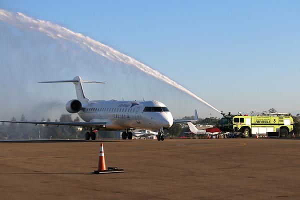 Cal Jet Inaugural Flight 28 Sept, 2017