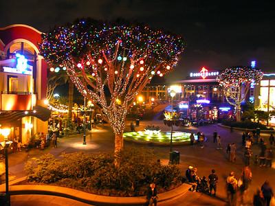 Disneyland Downtown from Ralph Brennan's Jazz Kitchen