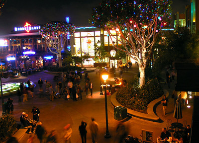 Disneyland Downtown from Ralph Brennan's Jazz Kitchen