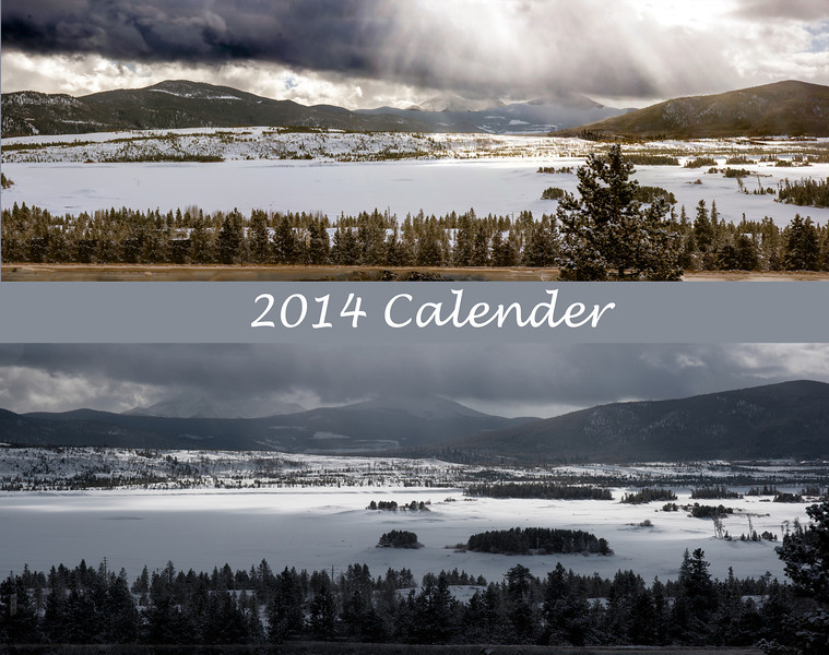 2014 Calender Cover