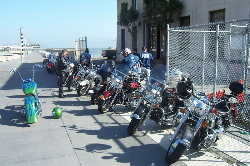 "MORNING MEET<br /> Hooking up with ""Silcon Valley Chapter"" members at SFFD Fireboats for Ride to California Firefighters' Memorial in Sacramento"
