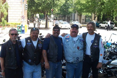 JR, Phil Leanio, Tim Neely, John Voelker(Barbary Coast Chapter Director) and Jerry Eibert