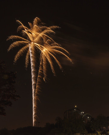 California's Great America Summer Fireworks