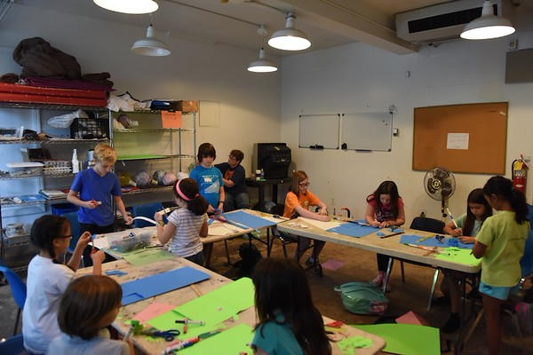 Callanwolde Summer Camps: Teen Writing, Let's Sculpt and On Stage.