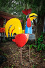 • Barberville Produce<br /> • A colorful metal hen