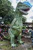 • Barberville Produce<br /> • A green metal dragon