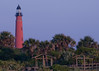 View of the Ponce De Leon Lighthouse from Ponce Inlet