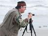 Camera Club of Brevard January, 2009 Fieldtrip - Richard Thomson taking unique  photo