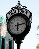 The Old Time clock which I guess keeps accurate time