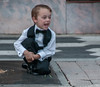 • Location - Ybor City<br /> • A cute little boy taking it easy before the wedding he will attend
