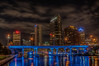 • Location -Downtown Tampa<br /> • Nighttime scene