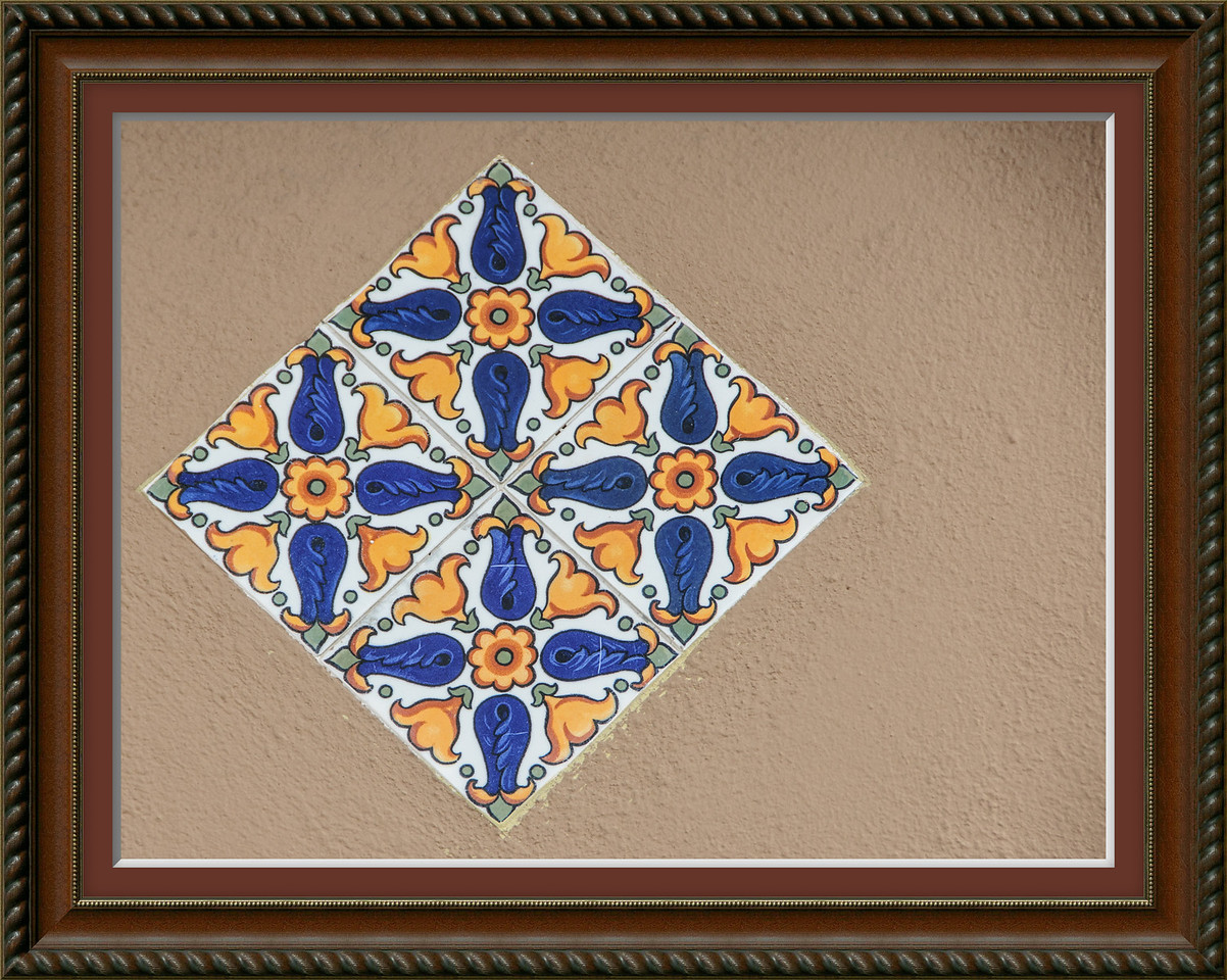 • Location - Ybor City<br /> • Interesting ceramic tile I saw while walking around the area