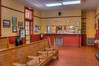 • The Amtrak DeLand Train Station<br /> • Waiting room for the daily trains