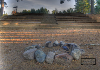 Amphitheater in Fall YMCA Camp Jorn 1st Annual 5th Non-Annual Alumni Reunion © Copyright m2 Photography - Michael J. Mikkelson 2012. All Rights Reserved. Images can not be used without permission.