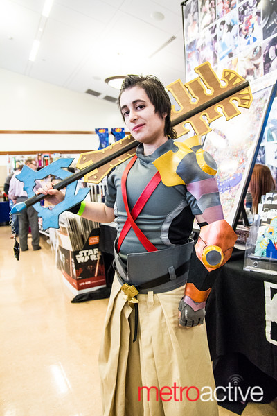 Kingdom Hearts Video Game Cosplayer