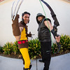 Wolverine and Hawkeye Cosplayers