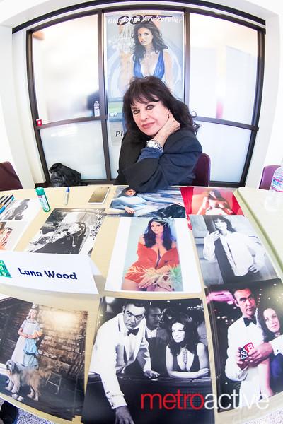Actress Lana Wood