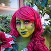 Poison Ivy Cosplayer