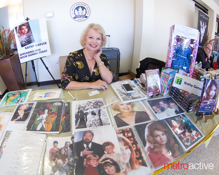 Actress Kathy Garver