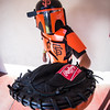 SF Giants-themed Boba Fett Cosplayer