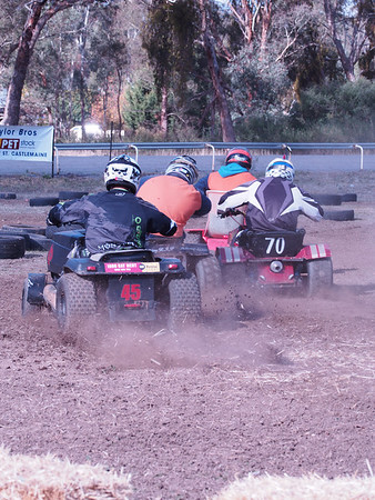 Campbells Creek Mower Racing 2013