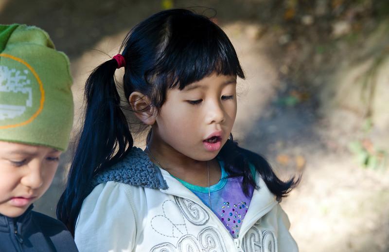 Megan, Thuan and Hoa's beautiful daughter