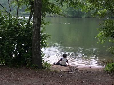 Camping At Stone Mountain - June 11, 2005