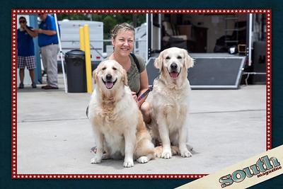 Tammy Heart, Aspen & Dakota (Therapy Dogs)