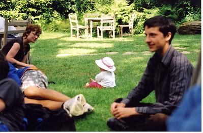 Camping in Devon 2005