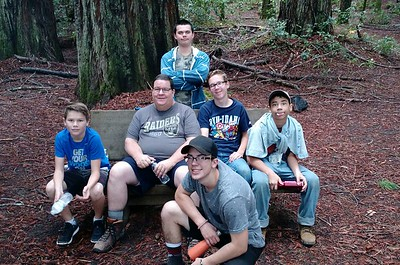 Camping with Boy Scout Troop 245