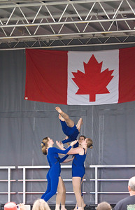 Perfomers from Stage One Dance at Canada Day, Castle Park, Port Coquitlam, July 1, 2012