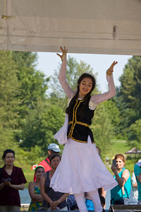 Canada Day 2013 at Lafarge Lake, Coquitlam. Dancer from Tri-City Iranian Cultural Society.