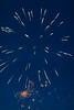 Canada Day 2015 Fireworks in Moosonee.