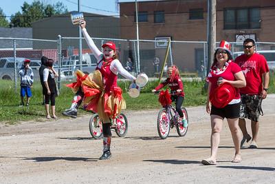 Canada Day Parade 2015 Moosonee