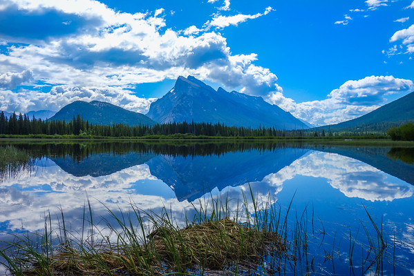 Rundle Mountain in Banff - Large